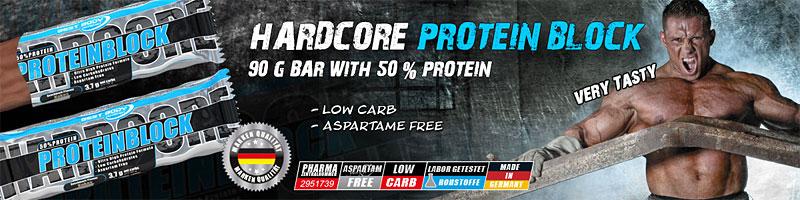 Best Body Hardcore Protein Block