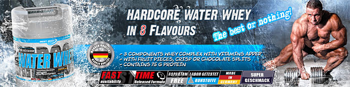 Best Body Hardcore Water Whey