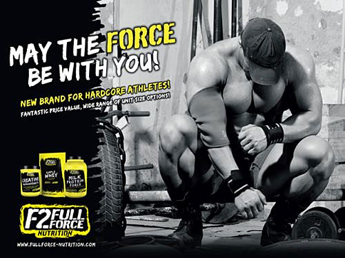 F2 Full Force Nutrition Milk Protein