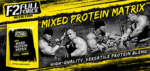 F2 Full Force Nutrition MPM Mixed Protein Matrix