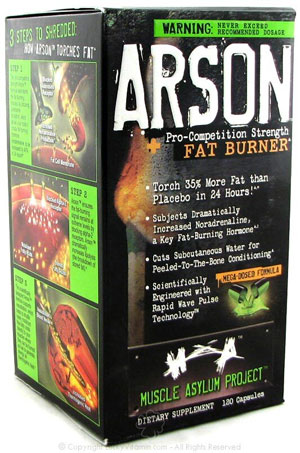 Muscle Asylum Project Arson