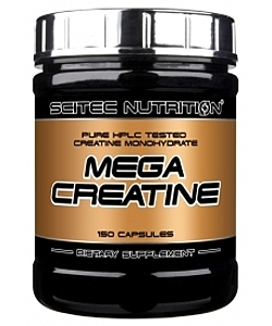 Scitec Nutrition Mega Creatine (150 капсул)