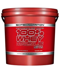 Scitec Nutrition 100% Whey Protein Professional LS (5000 грамм)