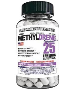 Cloma Pharma Methyldrene M25E Elite (100 капсул)