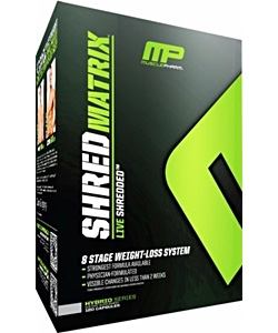 Muscle Pharm Shred Matrix (120 капсул)