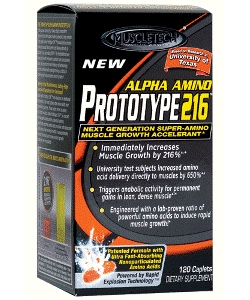 Muscle Tech Alpha Amino Prototype 216 (120 капсул)