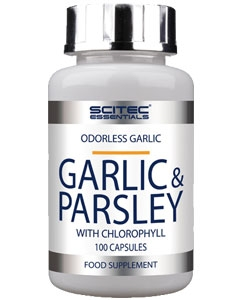 Scitec Essentials Garlic & Parsley (100 капсул)