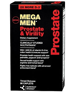 GNC Mega Men Prostate and Virility (90 капсул)
