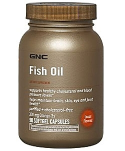 GNC Fish Oil (90 капсул)