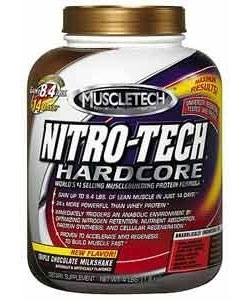 MuscleTech Nitro-Tech Hardcore Protein (1800 грамм)
