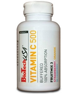 BioTech USA Vitamin C 500 (120 таблеток)
