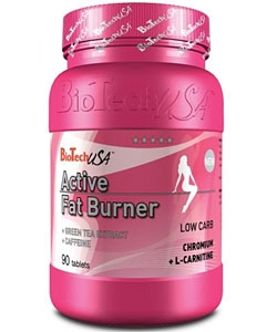 BioTech USA Active Fat Burner (90 таблеток)