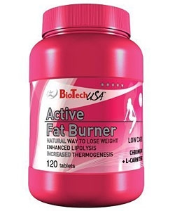 BioTech USA Active Fat Burner (120 таблеток)