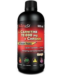 BioTech USA L-Carnitine 70.000 + Chrome (500 мл)