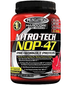 MuscleTech Nitro-Tech NOP-47 (725 грамм)
