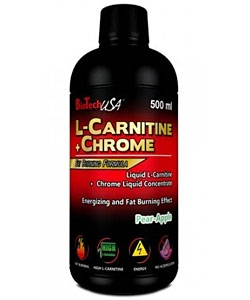 BioTech USA L-Carnitine + Chrome (500 мл)