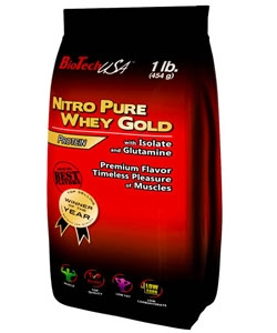 BioTech USA Nitro Pure Whey Gold (454 грамм)