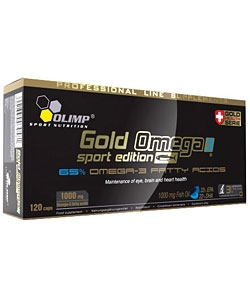 Olimp Labs Gold Omega 3 Sport Edition (120 капсул)