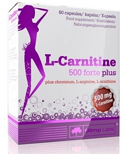 Olimp Labs L-Carnitine 500 Forte Plus (60 капсул)