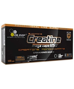 Olimp Labs Creatine 1250 Mega Caps (120 капсул)