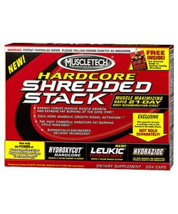 MuscleTech Shredded Stack (21 пак.)