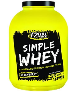 F2 Full Force Nutrition Simple Whey (2270 грамм)