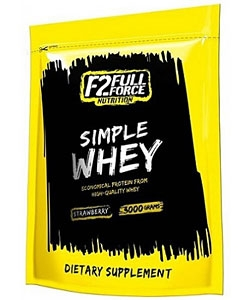 F2 Full Force Nutrition Simple Whey (3000 грамм)
