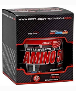 Best Body Hardcore Amino 5000 (325 таблеток)