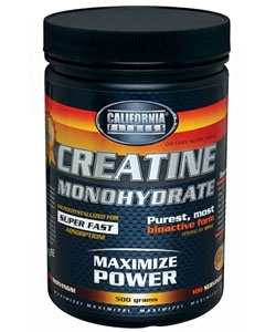 California Fitness Creatine Monohydrate (500 грамм)