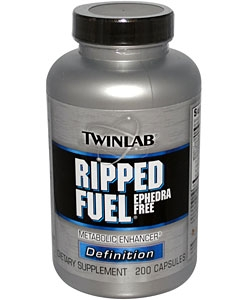 Twinlab Ripped Fuel Ephedra Free (200 капсул)