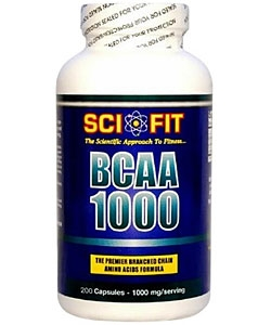 Sci-Fit BCAA 1000 (200 капсул)