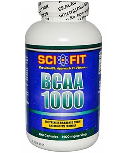 Sci-Fit BCAA 1000 (400 капсул)