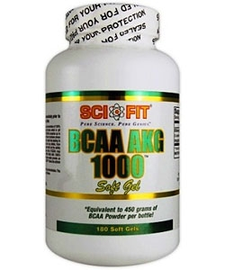 Sci-Fit BCAA AKG 1000 (180 капсул)