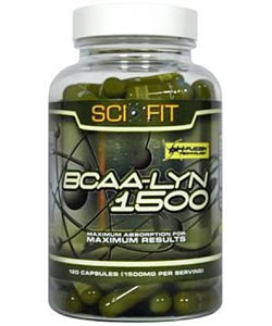 Sci-Fit BCAA-Lyn 1500 (120 капсул)