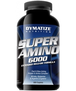 Dymatize Nutrition Super Amino 6000 (500 капсул)