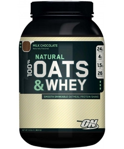 Optimum Nutrition 100% Natural Oats Whey (1360 грамм)