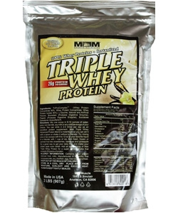 Max Muscle Triple Whey Protein (907 грамм)