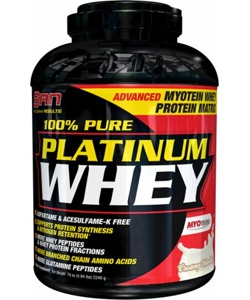 SAN 100% Pure Platinum Whey (2270 грамм)