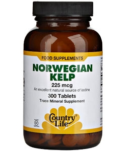 Country Life Norwegian Kelp (300 таблеток)