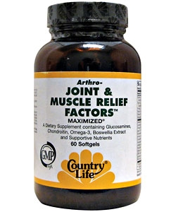Country Life Joint & Muscle Relief Factors (60 капсул)