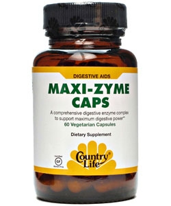 Country Life Maxi-Zyme Caps (60 капсул)