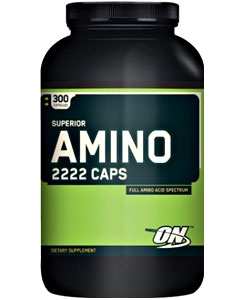 Optimum Nutrition Superior Amino 2222 Caps (300 капсул)