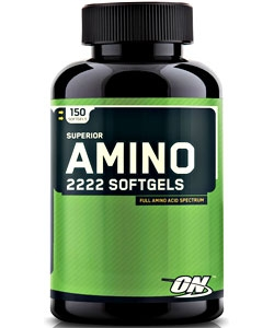 Optimum Nutrition Superior Amino 2222 Softgels (150 капсул)