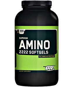Optimum Nutrition Superior Amino 2222 Softgels (300 капсул)