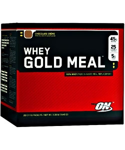 Optimum Nutrition 100% Whey Gold Meal (20 пак.)