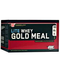 Optimum Nutrition 100% Whey Gold Meal Lite (20 пак.)