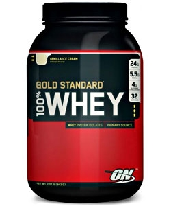 Optimum Nutrition 100% Whey Gold Standart (909 грамм)