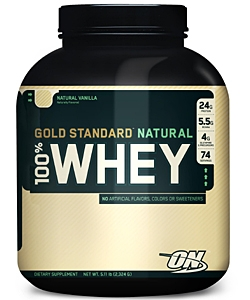Optimum Nutrition 100% Whey Gold Standard Natural (2300 грамм)