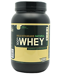 Optimum Nutrition 100% Whey Gold Standard Natural (900 грамм)