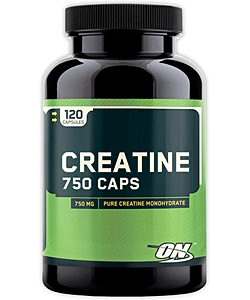 Optimum Nutrition Creatine 750 Caps (120 капсул)